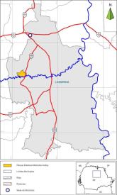 Mapa - Mata dos Godoy