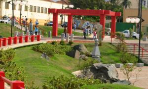 Praça do Centenário da Imigração Japonesa Foto: Prefeitura de Londrina